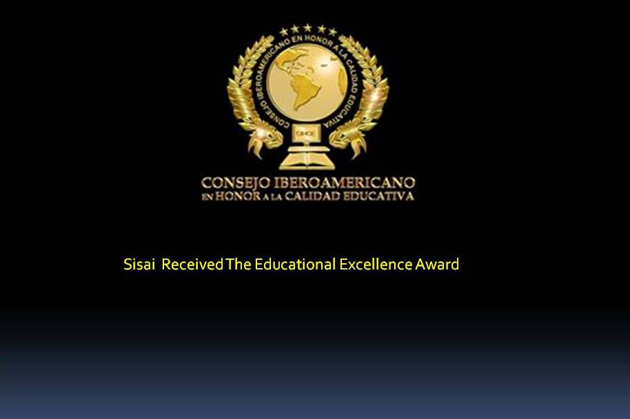 Sisai  Received The Educational Excellence Award